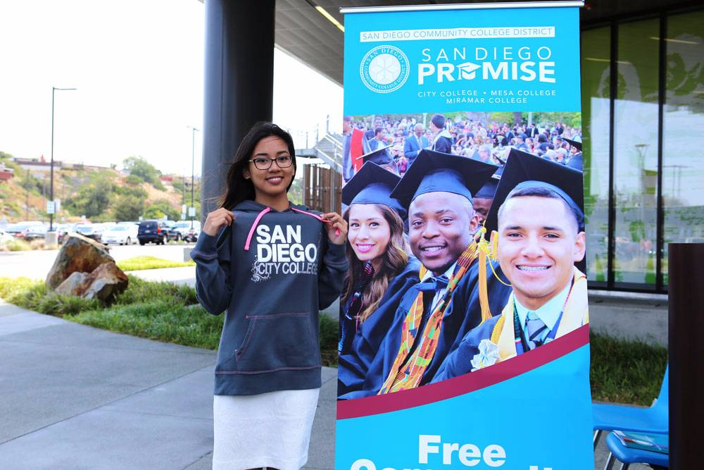 A san diego promise student