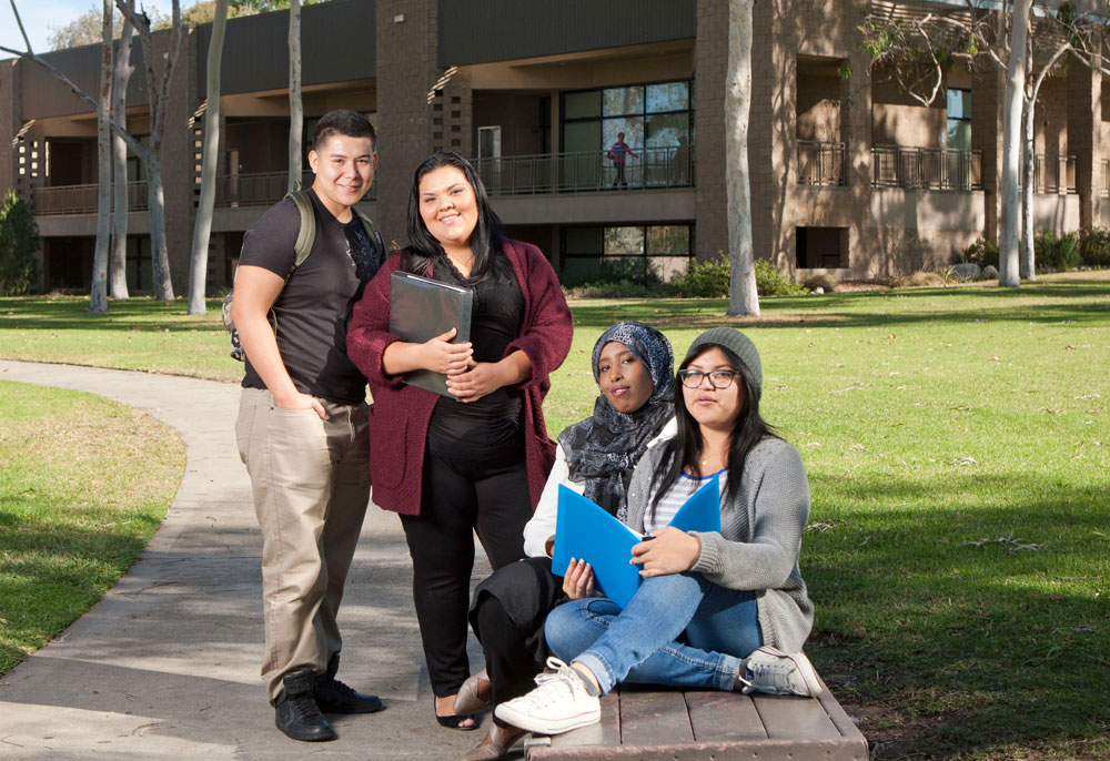 San Diego Continuing Education students on campus