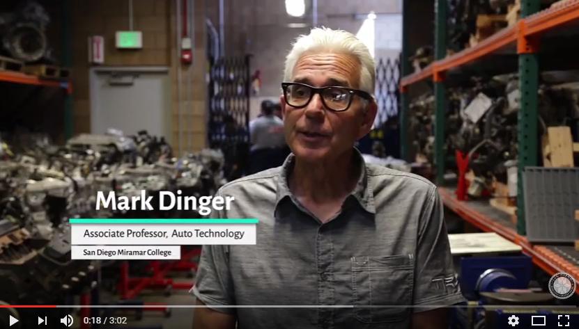 Miramar's auto technology fuels workforce training