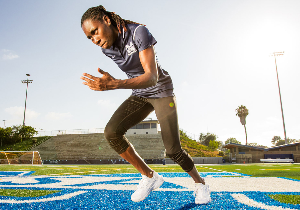 Brittney Reese -  Mesa College Coach and Olympic Gold Medalist
