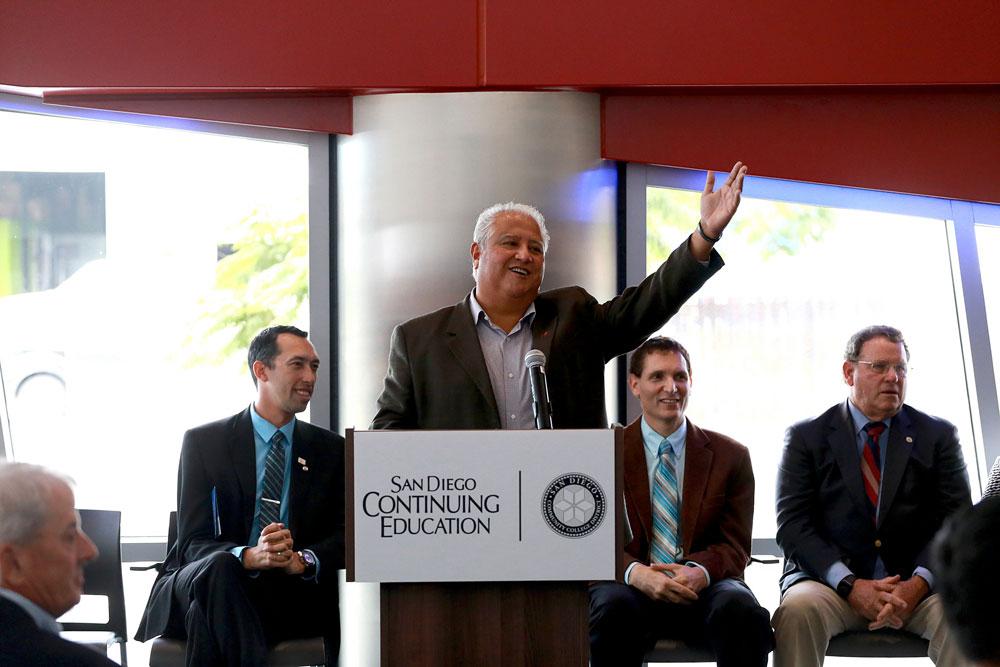 Grand opening César E. Chávez campus