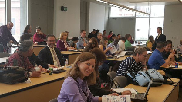Attendees of the Chemistry Consortium at San Diego City College