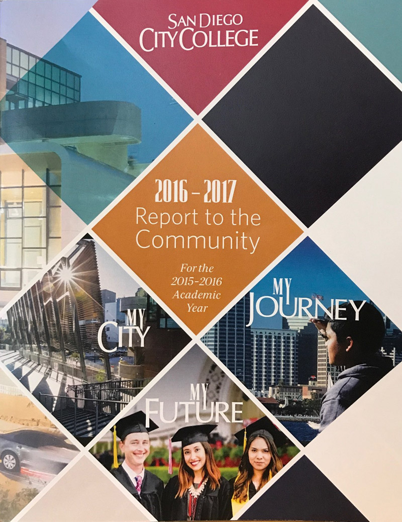 City College's annual report cover