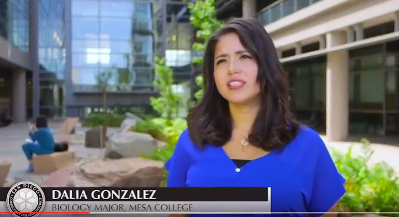 Dalia Gonzalez - Biology Major, Mesa College