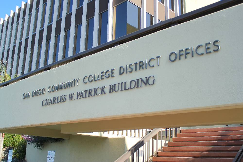 San Diego Community College District office in Mission Valley