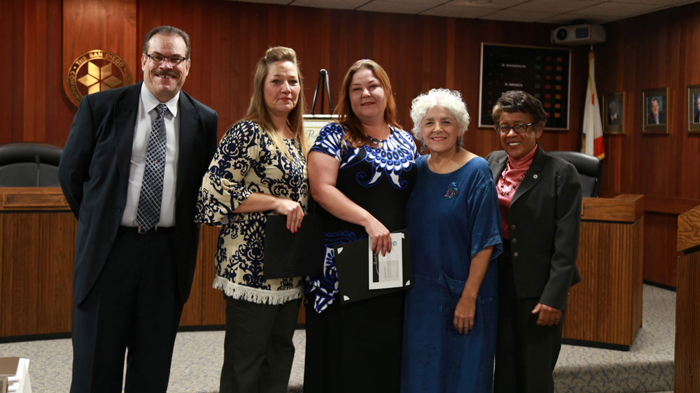33rd annual District Office Classified Employee Awards