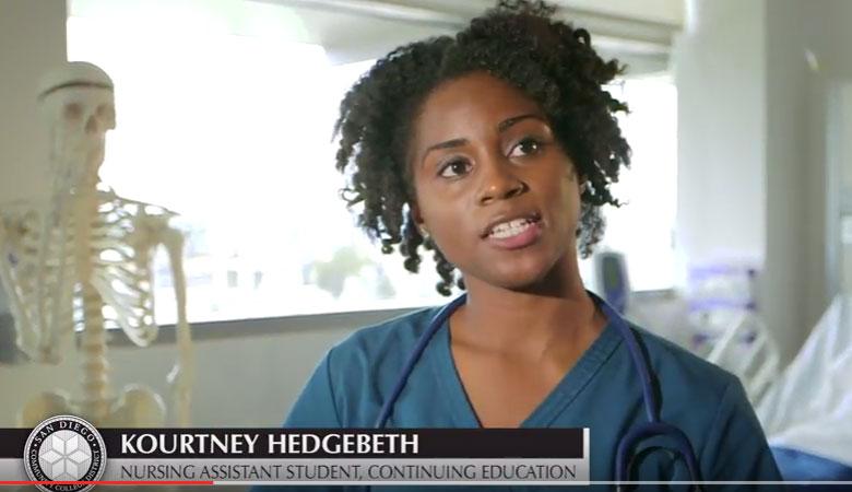 Kourtney Hedgebeth - Nursing Assistant student at Continuing Education