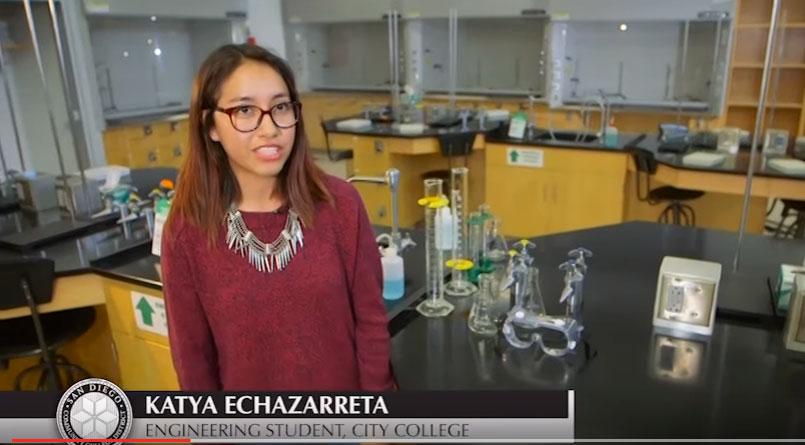Katya Echazarreta, Engineering Student, City College