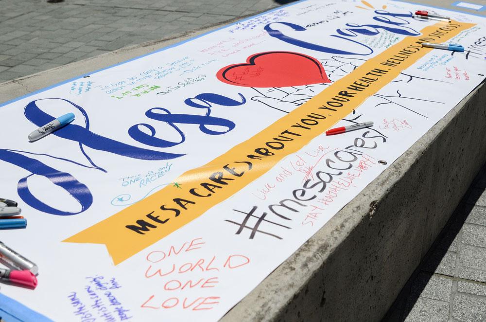 Mesa Cares promotes peace