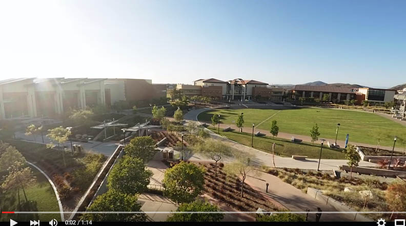 Miramar College sunset time-lapse