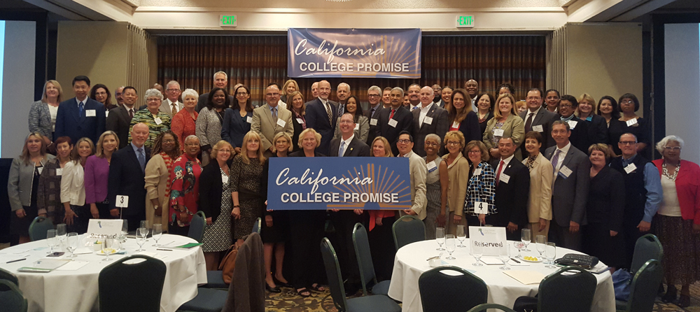 CEOs from 60 of California's 72 community college districts gathered for the California College Promise conference.