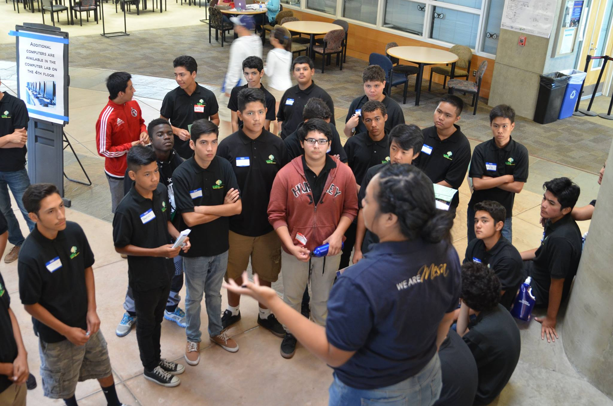 Students attend the Sustainability Summit at Mesa College