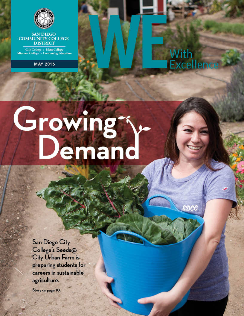 Cover of the May 2016 issue of WE