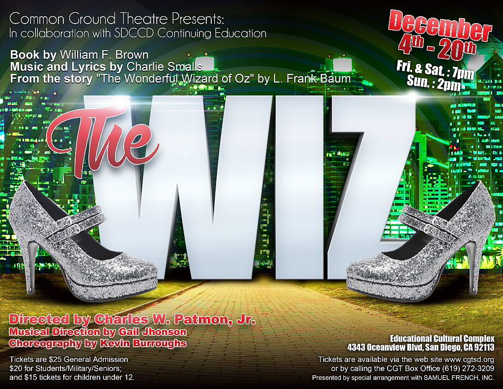 The Wiz promotional flyer