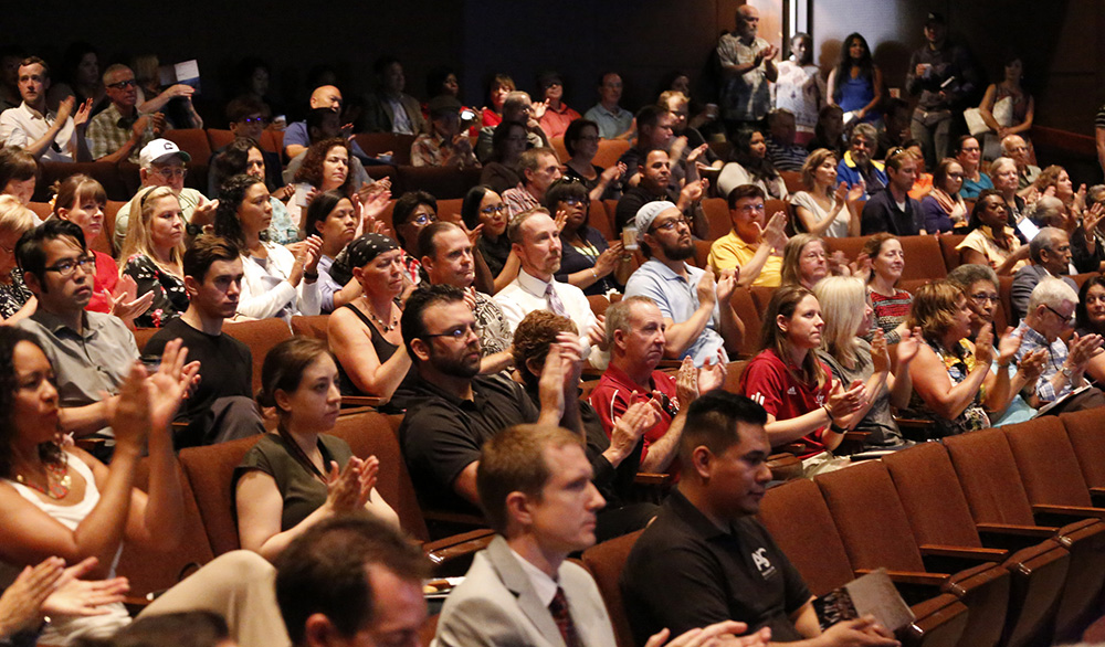 Convocation: Faculty and staff welcomed back for fall 2017