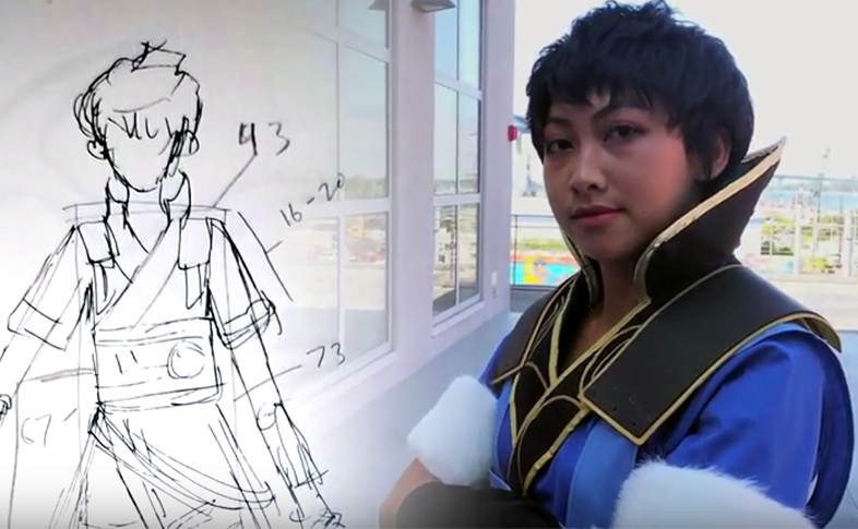 Fashion student uses her skills to create cosplay outfits