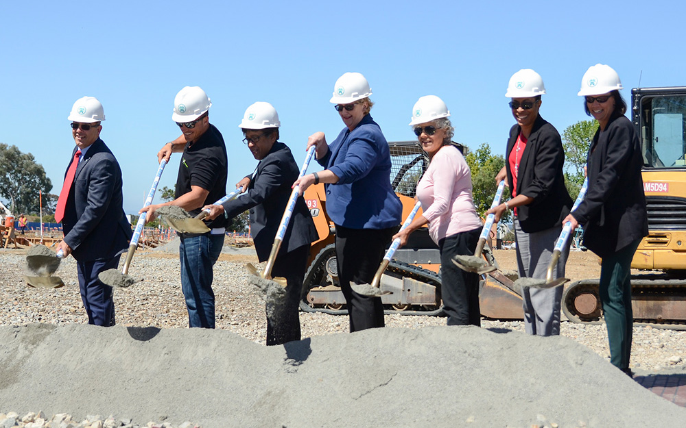 Mesa College Center for Business and Technology groundbreaking