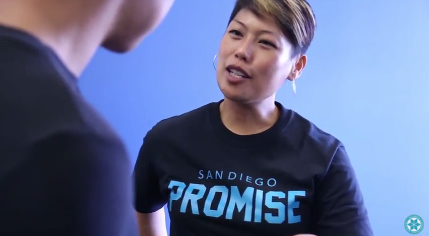 The students of the San Diego Promise