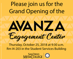 Grand opening of the AVANZA Engagement Center at Mesa College Featured Image