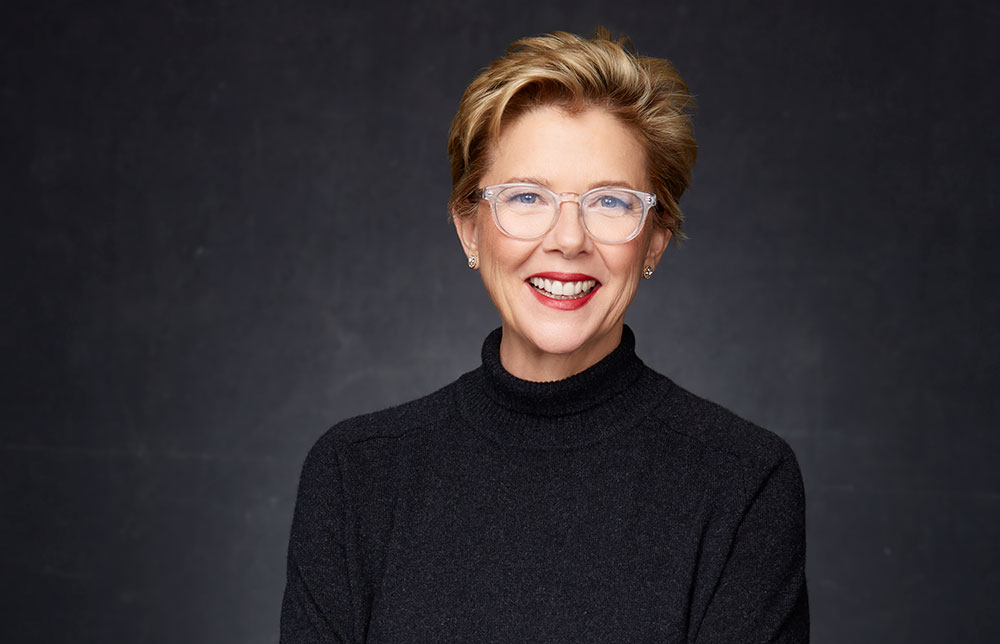 Annette Bening portrait photo