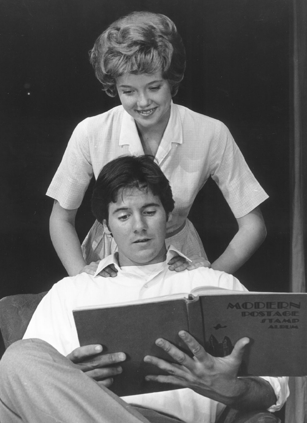 Annette bening in a play as a student at Mesa College