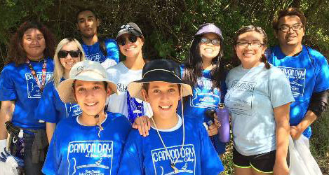 Canyon Day cleanup at Mesa College