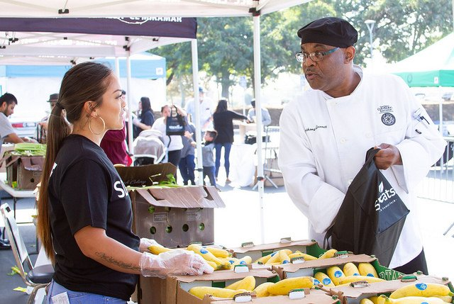 Continuing Education gives away 10,000 pounds of fresh produce Featured Image