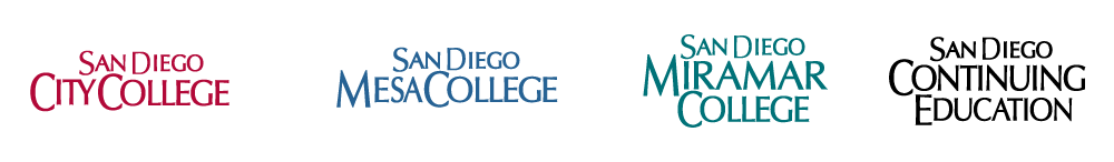 SDCCD college logos