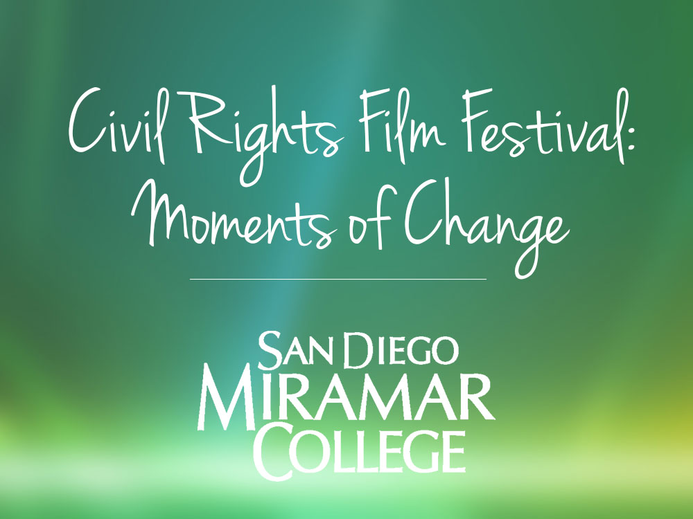 Image for Civil Rights Film Festival at Miramar College article