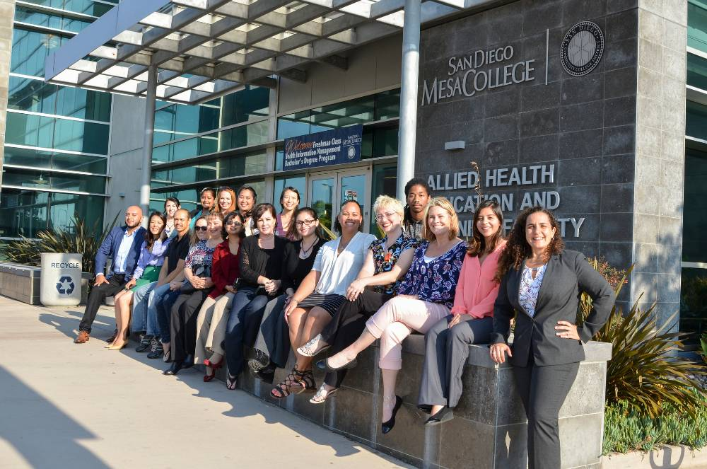 Health Information Management students at Mesa College