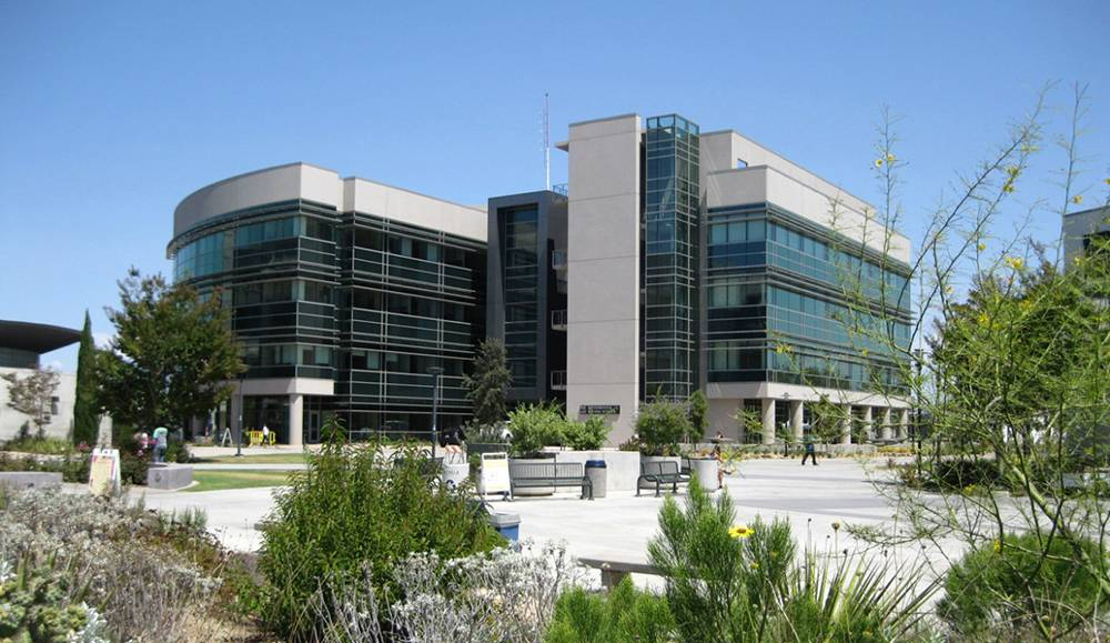 The math building at Mesa College