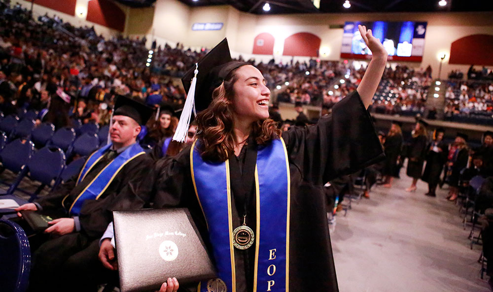San Diego Mesa College Commencement 2018