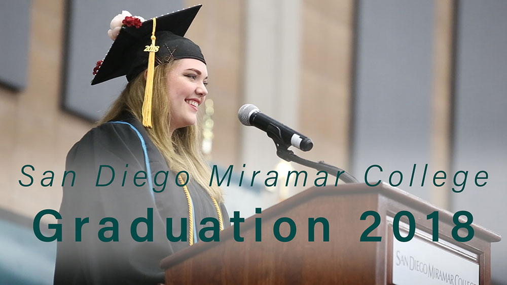 Miramar College Graduation 2018