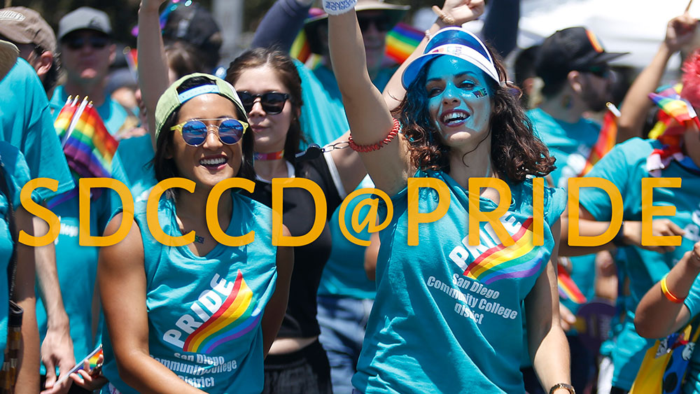 SDCCD to walk in annual Pride Parade Featured Image