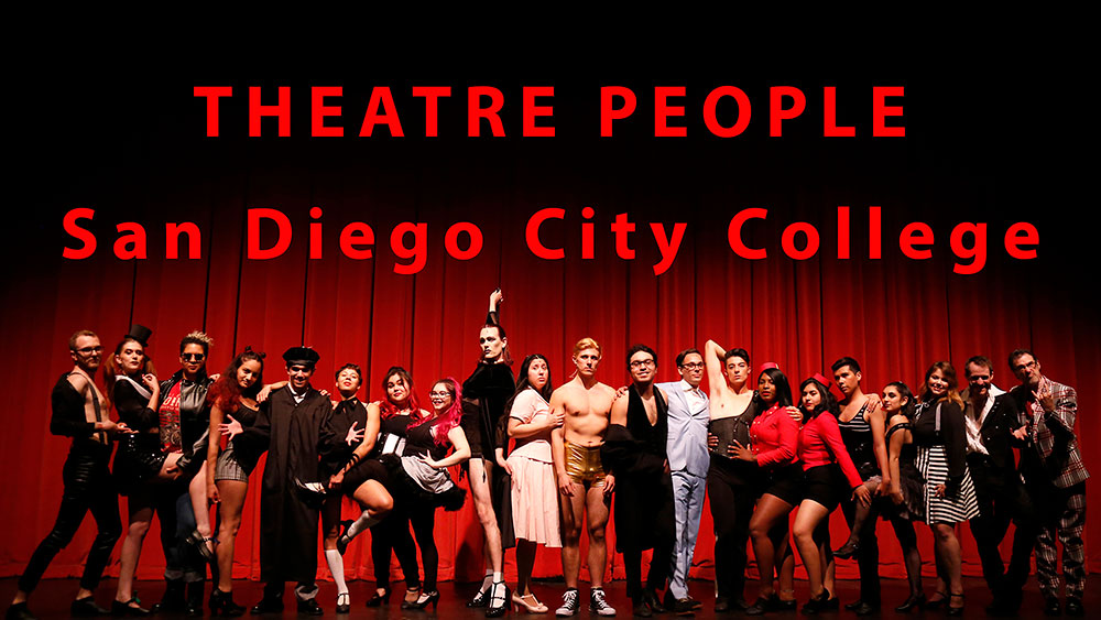 Onstage at City College