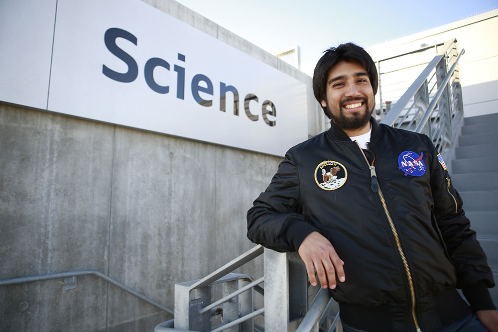 Sergio Sandoval: From City College to NASA