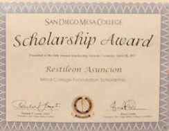 Mesa College to award nearly a quarter of a million dollars in scholarships