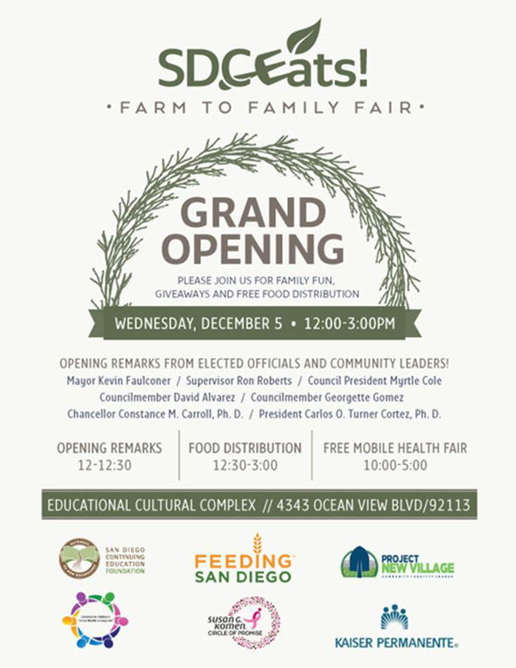 Farm to family fair event poster