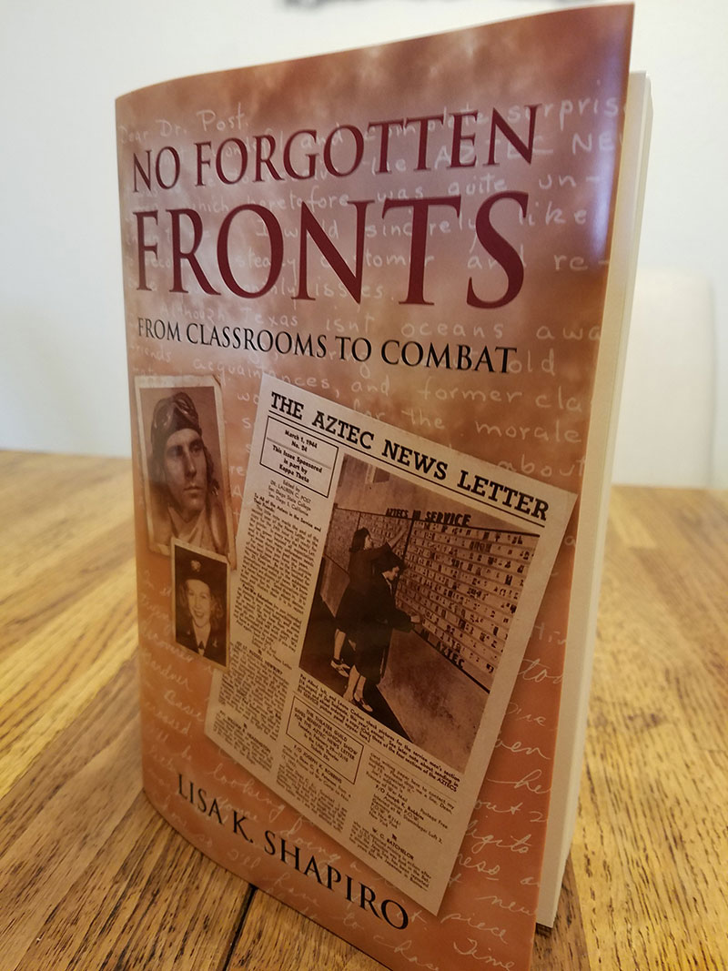 'No Forgotten Fronts: From Classrooms to Combat' is subject of Mesa professor's April 26 talk