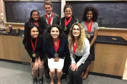 San Diego Mesa College Speech and Debate team