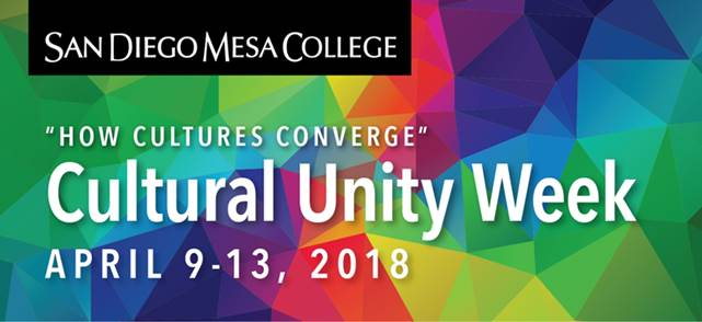Mesa College celebrates Cultural Unity Week 2018 Featured Image