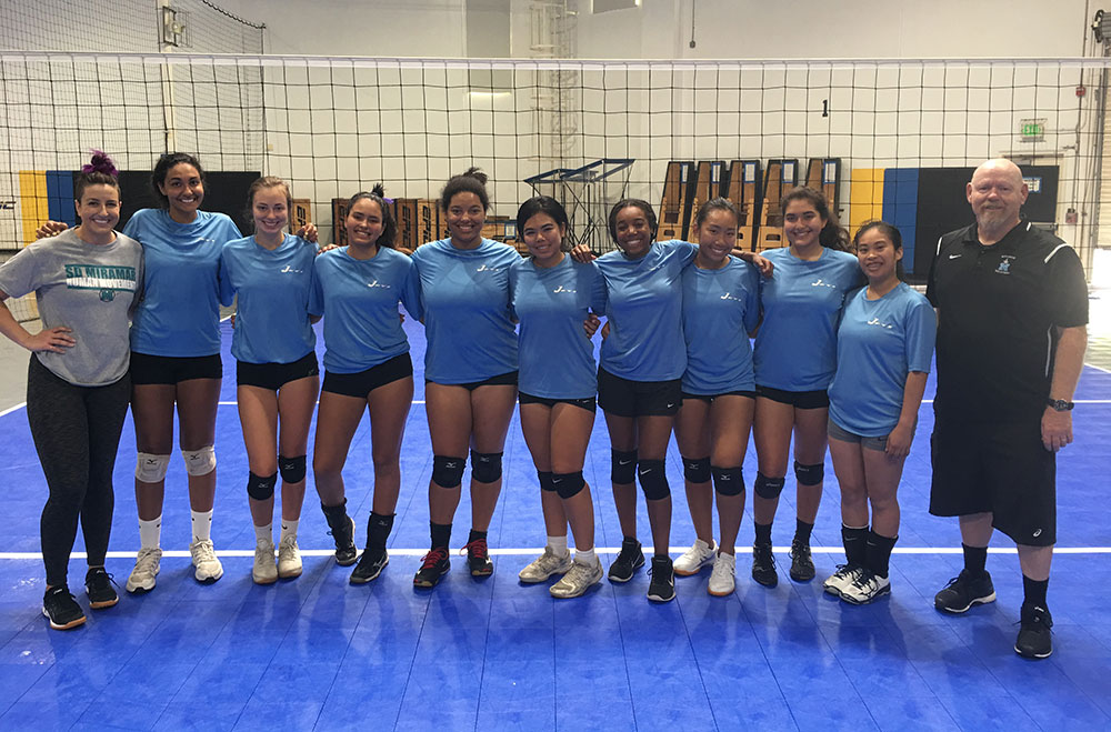 Miramar College's women's volleyball to play inaugural match Aug. 24 Featured Image