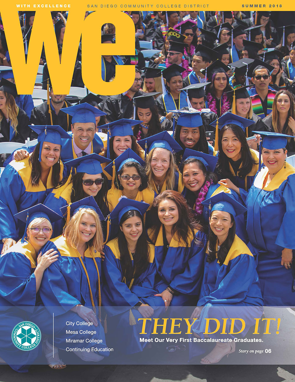 Cover Image of Latest WE Magazine goes here.