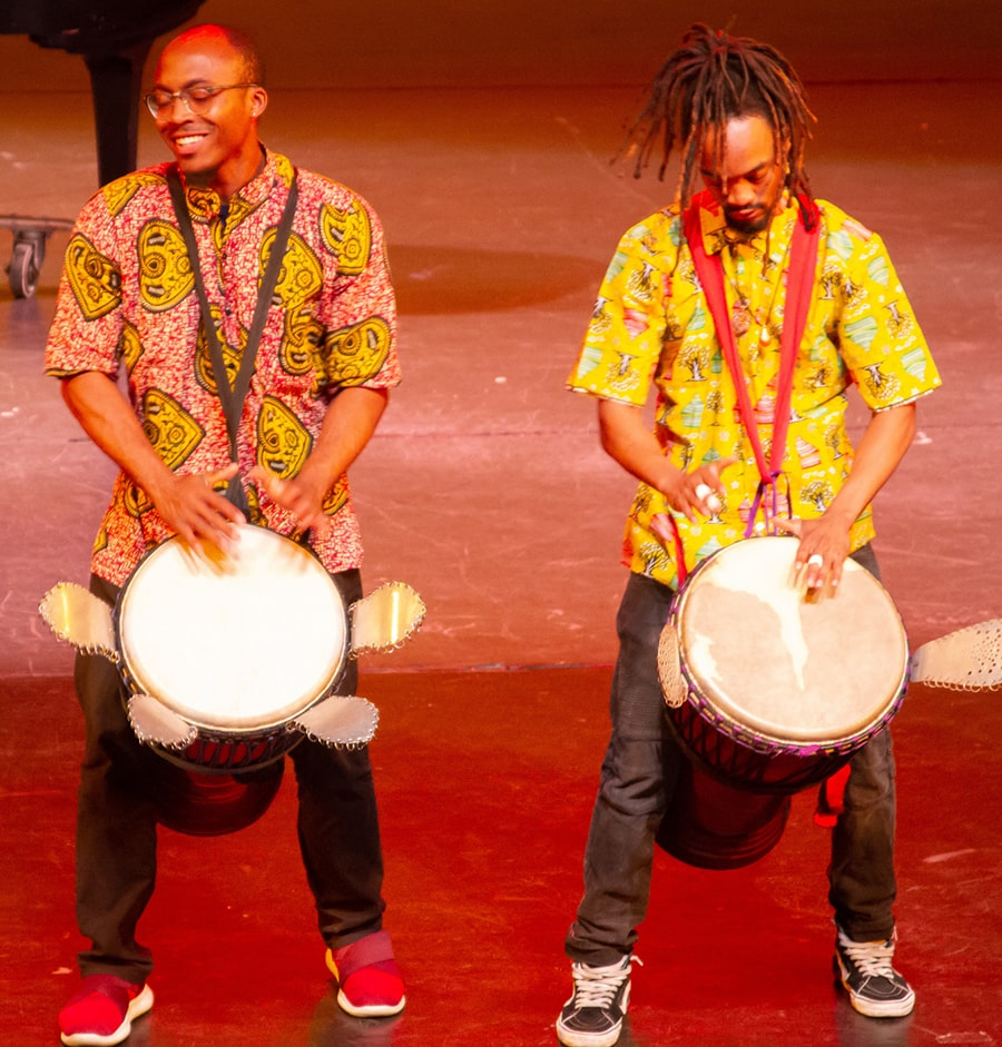 Celebrating Black History Month with music and dance