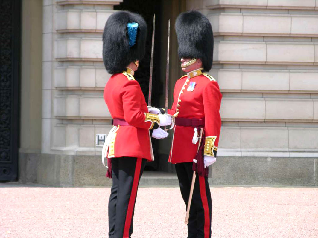 British guards