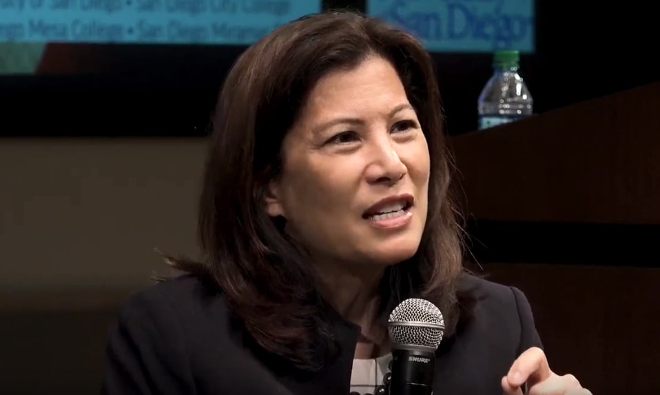 Chief Justice Tani Cantil Sakauye at the Restoring Respect Conference