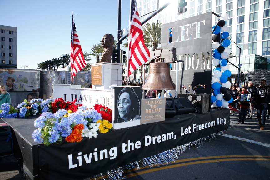 SDCCD walks in 2019 MLK Parade