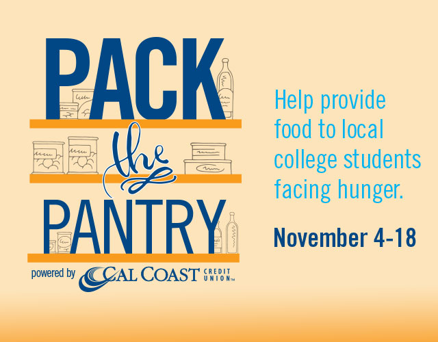 Pack the Pantry food drive aims to fill local college food pantries