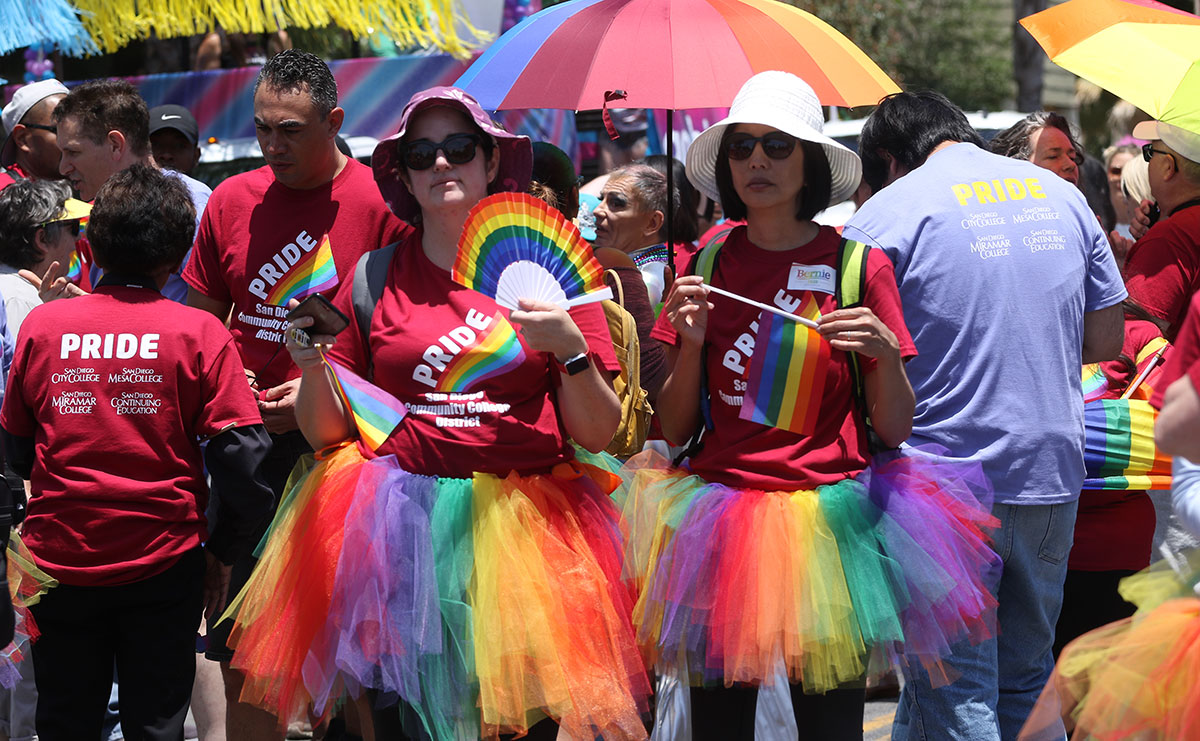 District marches in 2019 Pride Parade