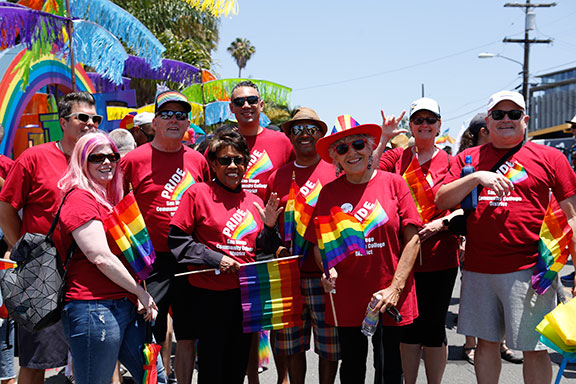 SDCCD at Pride 2019